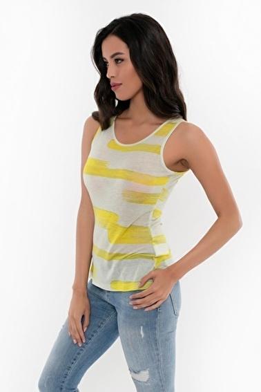 Silk and Cashmere Tişört Sarı